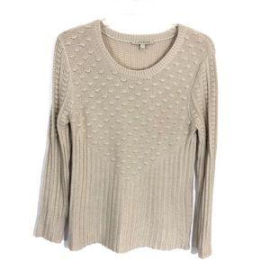 Stitch fix 41 hawthorn neutral sweater chunky knit